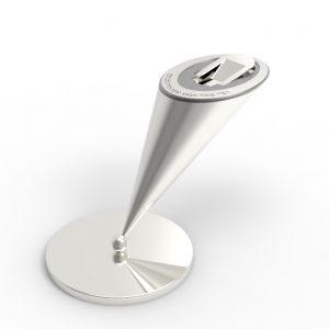 tzadakah box silver