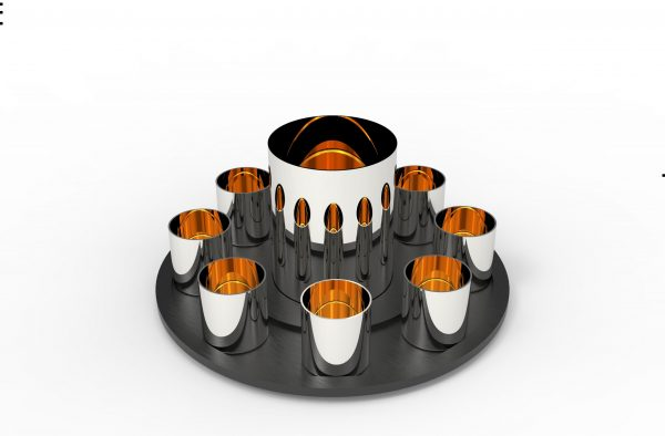 wine cups set