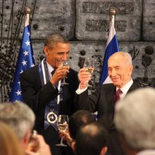 President Peres and P. Obama