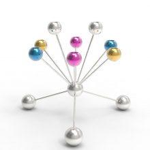 The Molecules candelabra